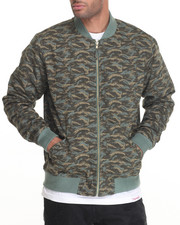 Men - Tonal Camo Flight Jacket
