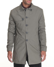 Outerwear - Diamond Trench Coat