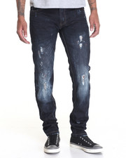 Men - Paint Drop Premium - Wash Denim Jeans