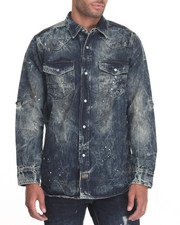 Button-downs - Shirt - Shape Denim Jacket
