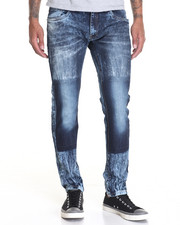 Men - Wash - Two - Ways Denim Jeans