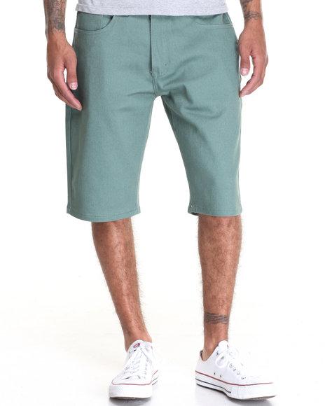 Akademiks Men Shady Straight Leg Short Green 34