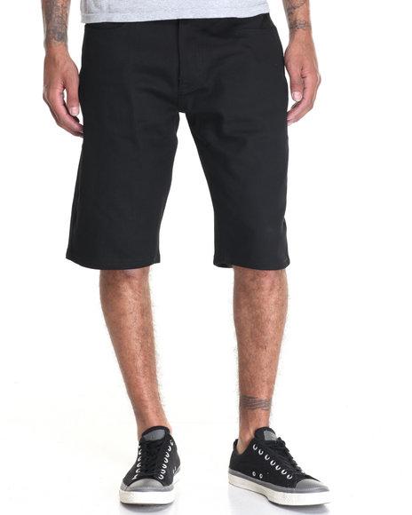Akademiks Men Shady Straight Leg Short Black 38