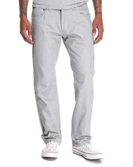 Akademiks - Men Grey Culture Twill Pant - $48.00
