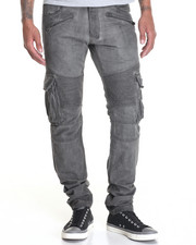 Men - Dirt Oiled Biker Twill Cargo Pants