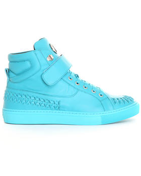 Sneakers - Versace Collection Woven Toe Hi Top