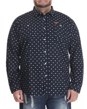 Men - Printed L/S Button-Down (B&T)