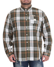 Men - Plaid L/S Button-Down (B&T)