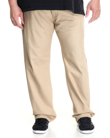 Akademiks - Men Khaki Culture Twill Pant (B&T)