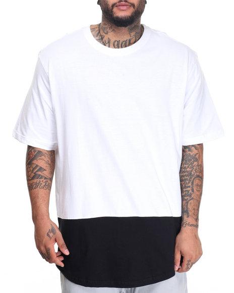 Akademiks Men Rule T-Shirt (B&T) White 3X-Large