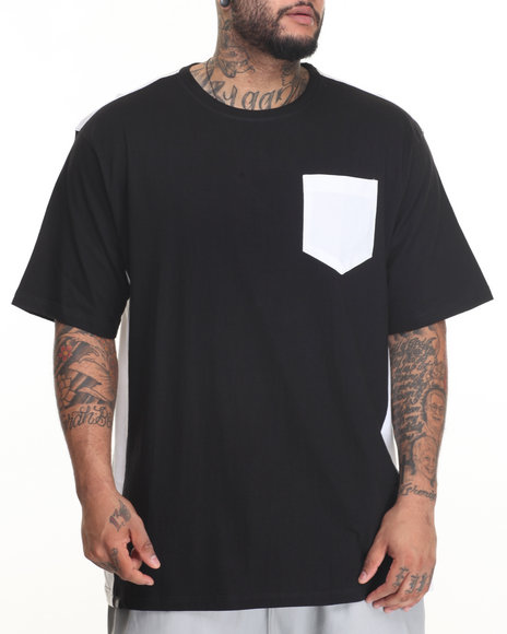 Akademiks Men Uptown T-Shirt (B&T) Black 3X-Large