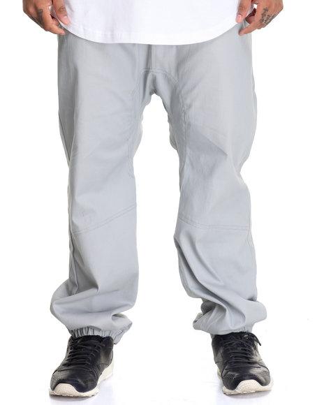 Akademiks Men Noble Woven Jogger Pant (B&T) Grey 3X-Large