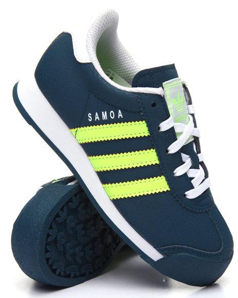 Adidas Boys Samoa C Sneakers (113) Navy 12 Youth
