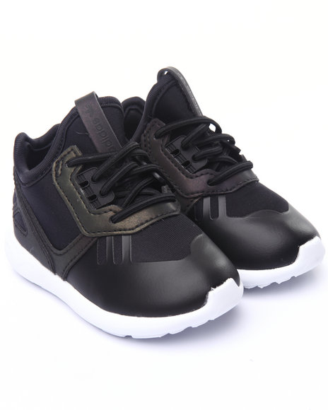 Adidas - Boys Black Tubular Runner Xenopeltis I Sneakers (5-10)