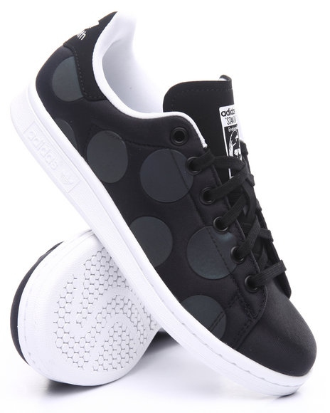 Adidas Girls Stan Smith Xenopeltis J Sneakers (3.57) Black 4 Youth