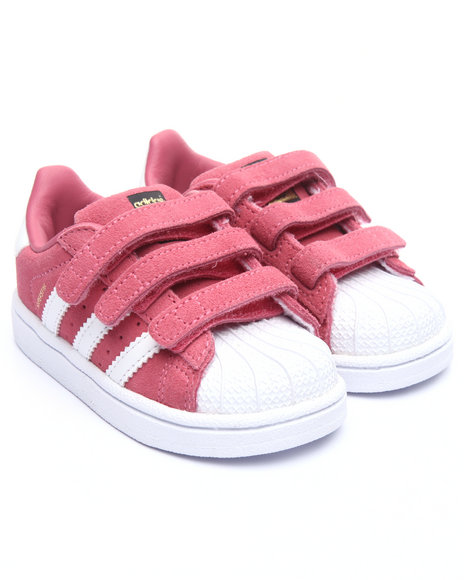 Adidas Girls Superstar Cf I Sneakers (510) Pink 8 Toddler