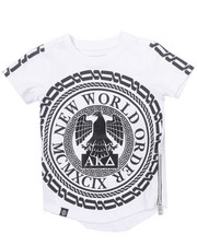 Akademiks - ELONGATED NEW WORLD TEE (2T-4T)