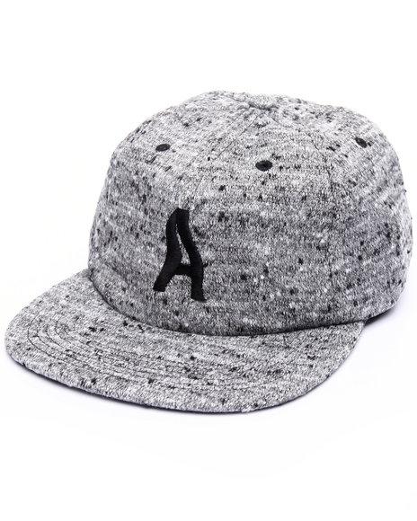 Akomplice Men Wavy Strapback Hat Grey