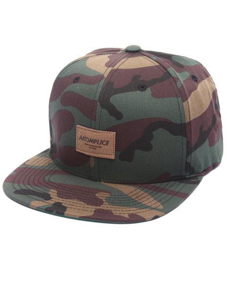 Akomplice Men Label Hat Camo