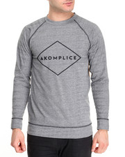 Buyers Picks - Sport Grey Raglan Crewneck Sweatshirt