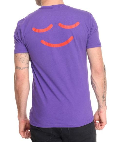 Akomplice - Men Purple Puffy The Cloud Tee