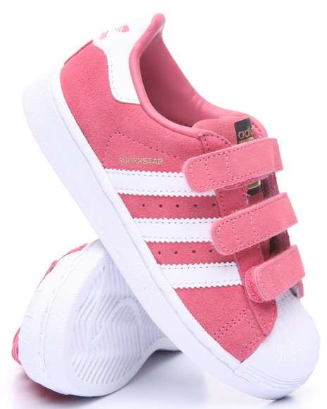 Adidas Girls Superstar Cf C Sneakers (113) Pink 13 Youth