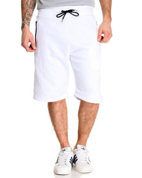 Buyers Picks - Men White Contrast Color Short - $18.00