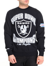Pullover Sweatshirts - Los Angeles Raiders NFL Team of the Year Crew Sweatshirt