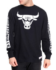 Shirts - Chicago Bulls NBA Free Throw L/S Tee