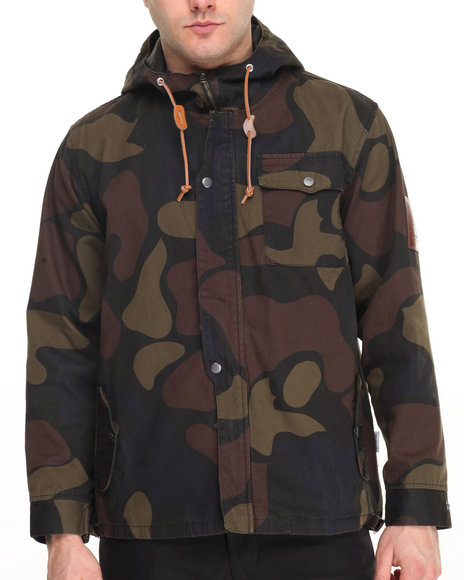 Akomplice - Men Camo Camarano Hunter Jacket