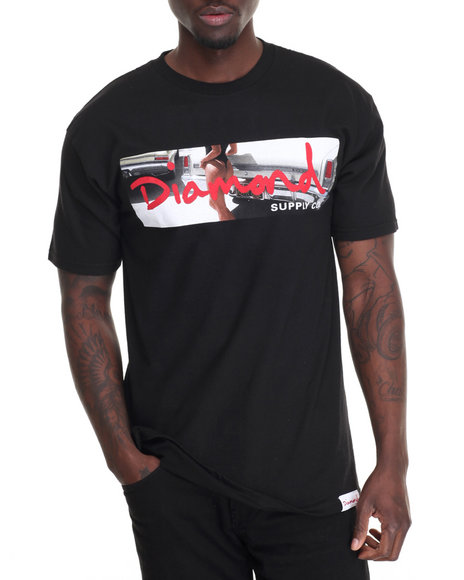 Diamond Supply Co Men Cali Life Tee Black Medium
