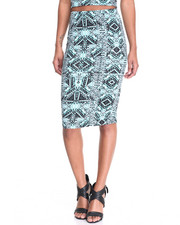Bottoms - Midi Skirt