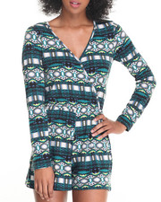 Women - Long Sleeve Surplus Playsuit