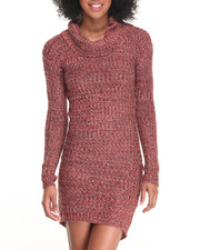 Fashion Lab - Cowl Neck Sweater Dress