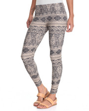 Bottoms - Printed Peached Legging