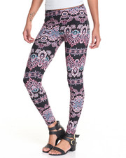 Bottoms - Printed Peached Leggings