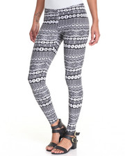 Bottoms - Printed Peached Leggins