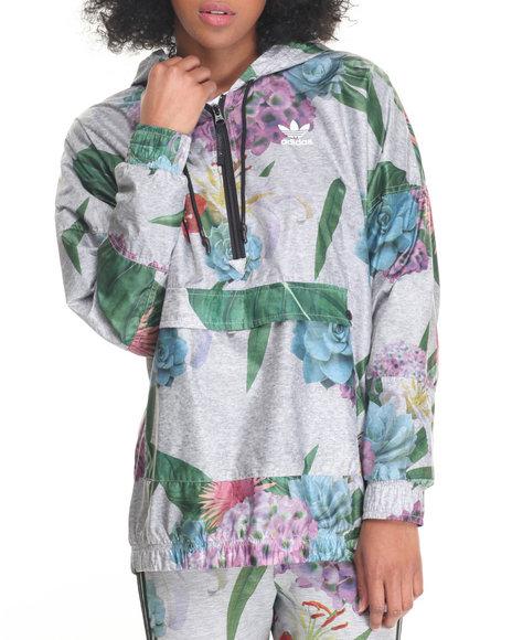 Adidas - Women Multi Training Floral Anorak Jacket
