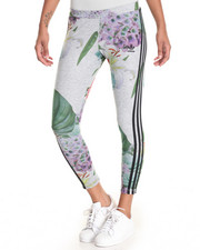 Bottoms - TRAINING FLORAL COLLEGE LEGGINGS