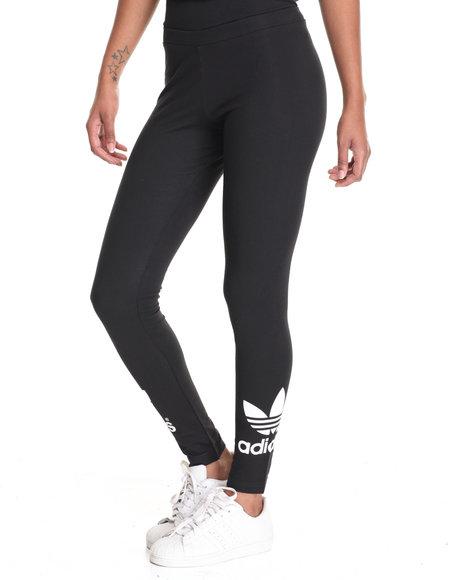 Adidas Women Trefoil Leggings Black XSmall