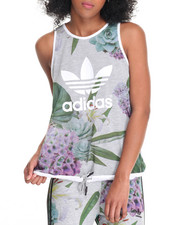 Tanks, Tubes & Camis - TRAINING FLORAL TANK