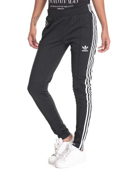 Adidas Women Supergirl Track Pants Black Small