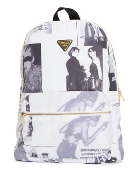 Bags - JR X Maripol collage city backpack
