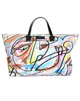 Women - Scribble weekender bag