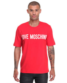 Shirts - Love Moschino Logo Tee