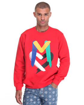 -FEATURES- - L/S Brushed Love M Crewneck