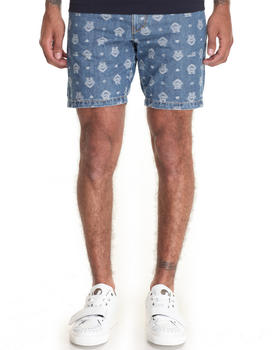 Men - Monogrammed Denim Short