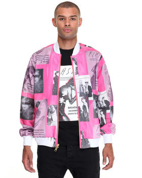 Jackets & Coats - JR X Maripol collage city mesh jacket