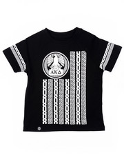 Akademiks - NEW WORLD RAGLAN TEE (2T-4T)