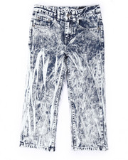 Boys - HEAVY ACID WASH JEANS (4-7)